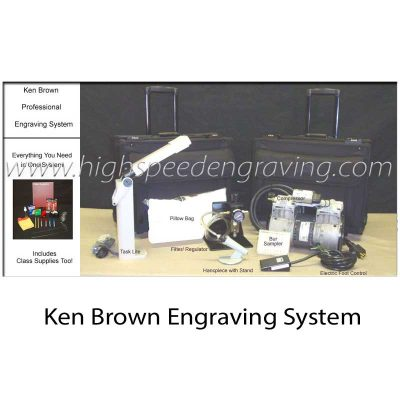Ken Brown Calligraphy Engraving System