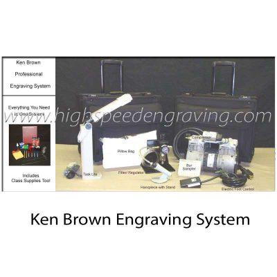 Ken Brown Calligraphy Engraving System