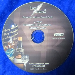 How to Engrave Lower Case Letters - DVD