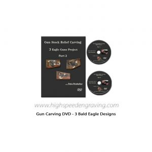 Dyke Roskelley demonstrated Gun Carving - DVD Set