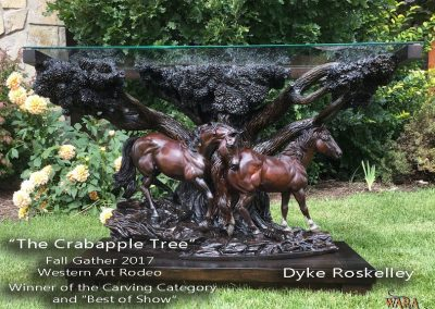 The Crabapple Tree by Dyke Roskelley