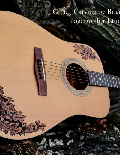 Guitar Carving by Roger Wolford
