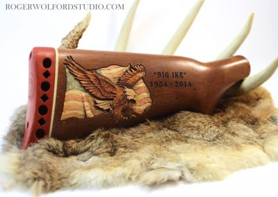 Roger Wolford Gun Carving