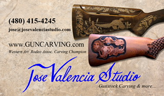 Jose Valencia Carving