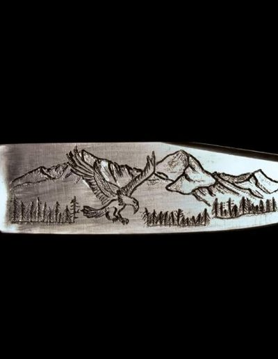 Knife Engraving by Michael Kindt