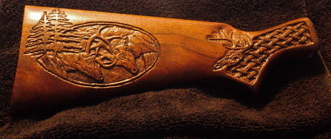 Gun Carving by Michael Kindt