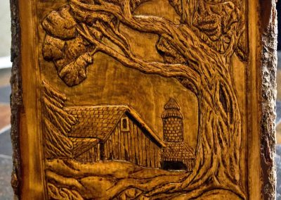 Wood Carving by Michael Kindt