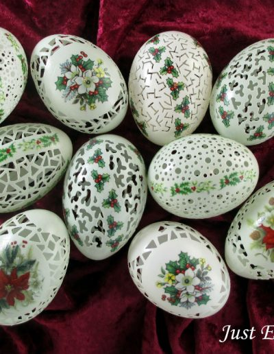 Eggshells by Linda Bowers